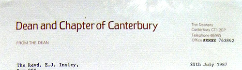 canterbury-letter